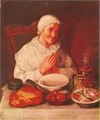 Katarina Ivanović: Starica se moli pred obed