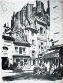 Ljubomir Ivanović Ljuba: Ulica Muftar u Parizu