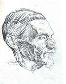 Ljubomir Ivanović Ljuba: Portret Uroša Predića