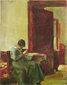 Ljubomir Ivanović Ljuba: Žena u enterijeru
